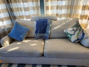 Upholstery cleaning by Organic Cleaners LLC